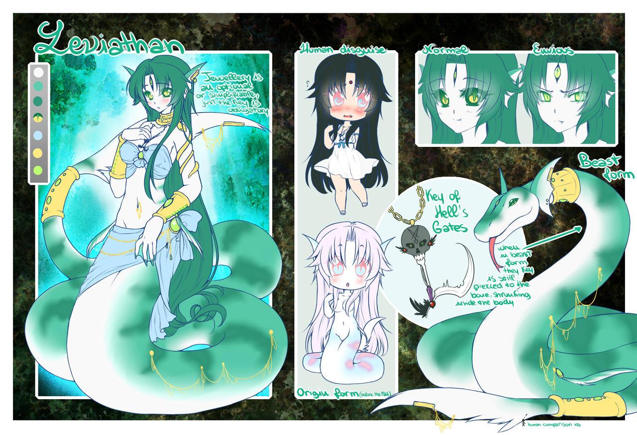 Leviathan Ref Sheet by Desiree-U