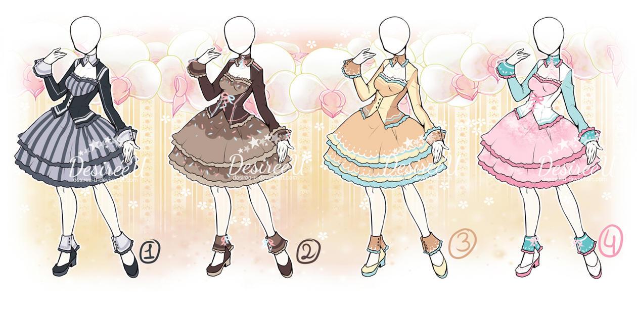 AtelierDesireeU: Prim Lady (CLOSED dress adopts) by Desiree-U