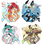 Summer Baroquerie adopts (CLOSED)