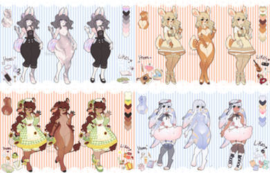 Flowers and Pastels Adopts //pending