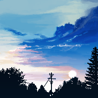 summer sky by cynsoma