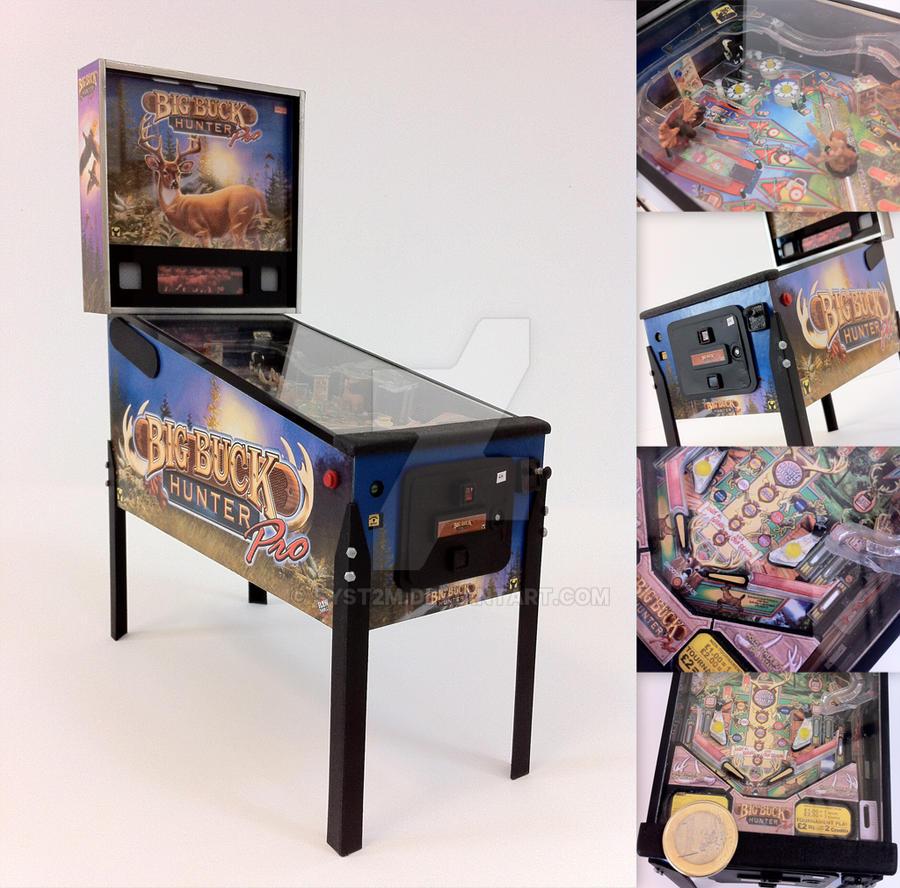 1:7 Big Buck Hunter Pro Pinball Machine by OutlawSiS