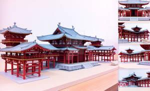 1:70 Scale Model of Phoenix Hall - Byodo-in Temple