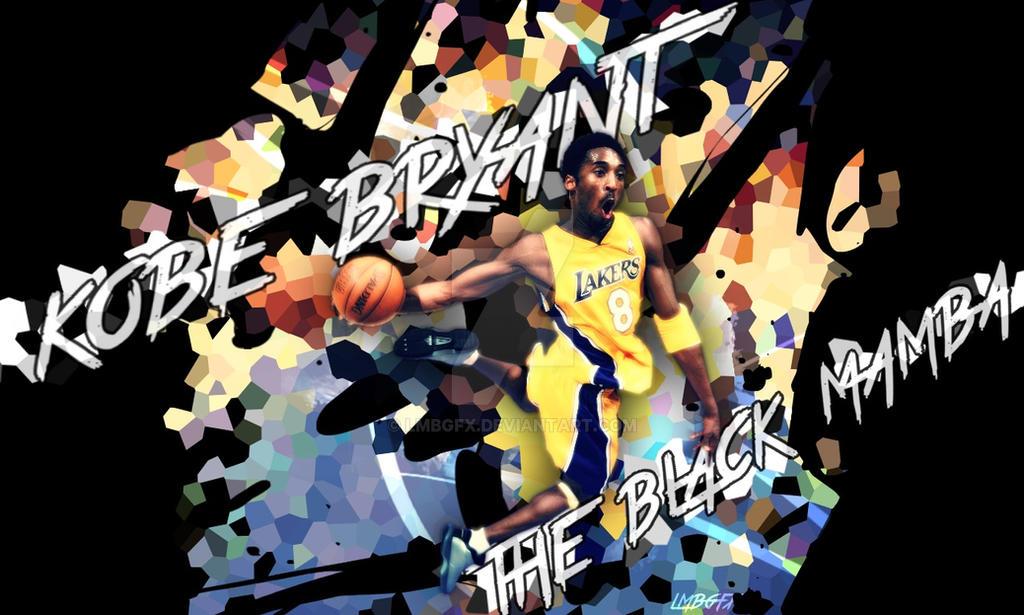 Kobe Bryant The Black Mamba Wallpaper By Lmbgfx On Deviantart