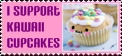 .:I support kawaii cupcakes :. by ClaudiaConstantino