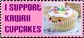 .:I support kawaii cupcakes :. by ClaudiaConstantino