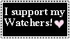 I support my watchers_stamp by ClaudiaConstantino