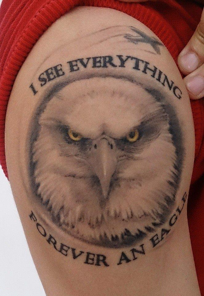 Eagle by SapoTattoo