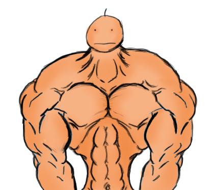 really buff guy by sirliftalot on deviantart rh sirliftalot deviantart com Buffed Up a Guy Cartoon My Hero Cartoon