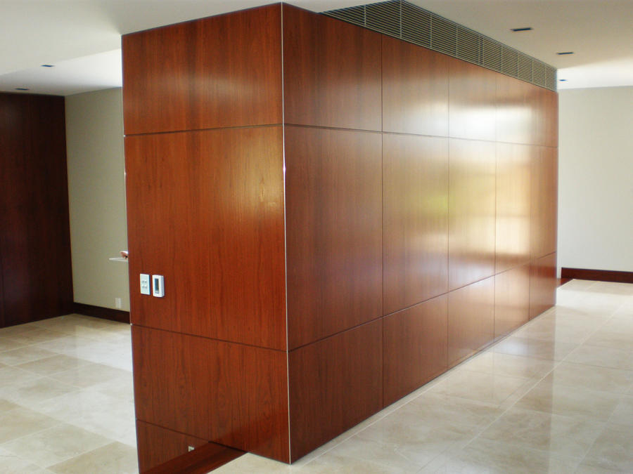 room divider wall cupboard by technologyinteriors on