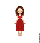 Hermione's Red Dress by LolaScheving
