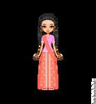 Padma's Yule Ball Dress by LolaScheving