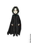 Severus Snape by LolaScheving