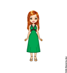 Ginny's Slug Party Dress by LolaScheving