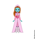 Mira's Pink Dress by LolaScheving
