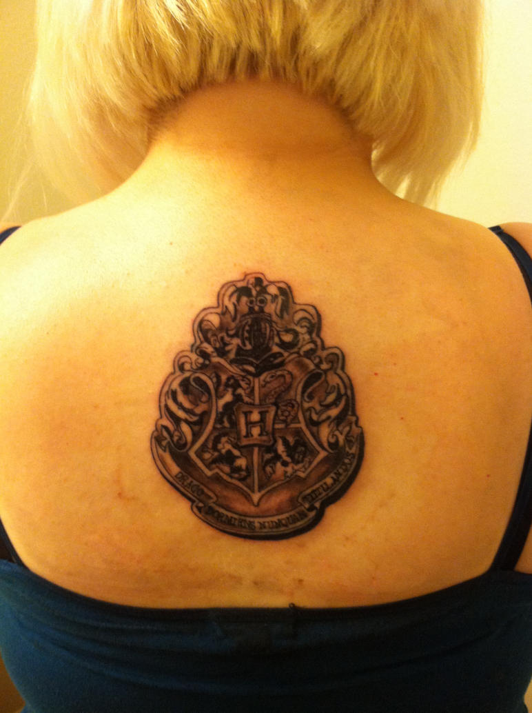 Hogwarts tattoo 1 by DarkElvenWitch