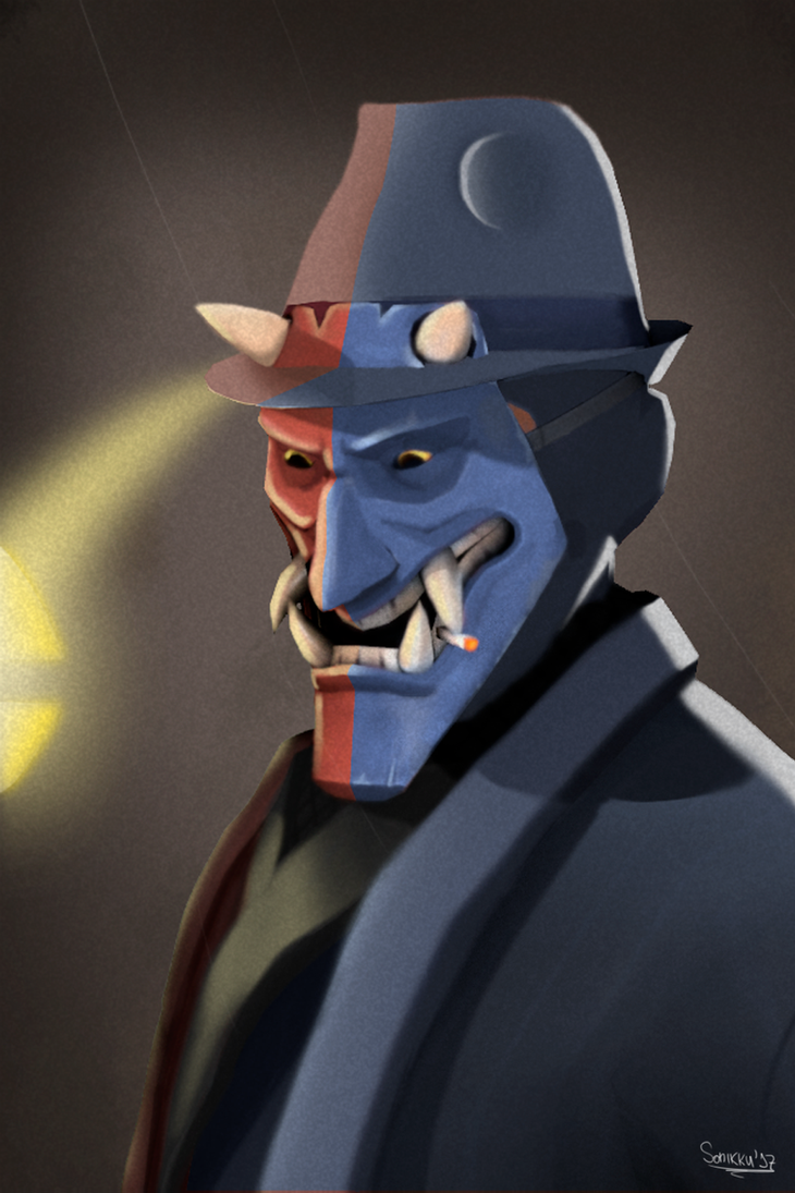 TF2 My Spy Portrait by TheSonikku