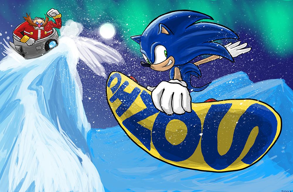 Sonic by Icetigris