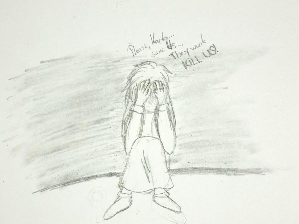 Please, Kaito... (sketch) by YumenoKatrin