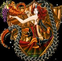 Scorpio: MoonDementia by Rusembell