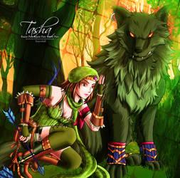 Velsigne: Ranger Tasha by Rusembell
