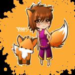 JS: Chibi Fox by Rusembell