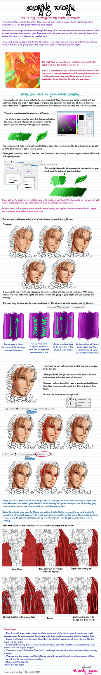 Tutorial: Color by Rusembell