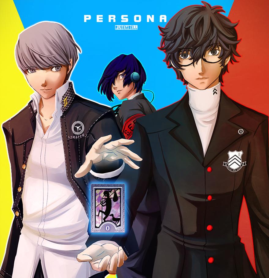 FanArt: Persona by Rusembell