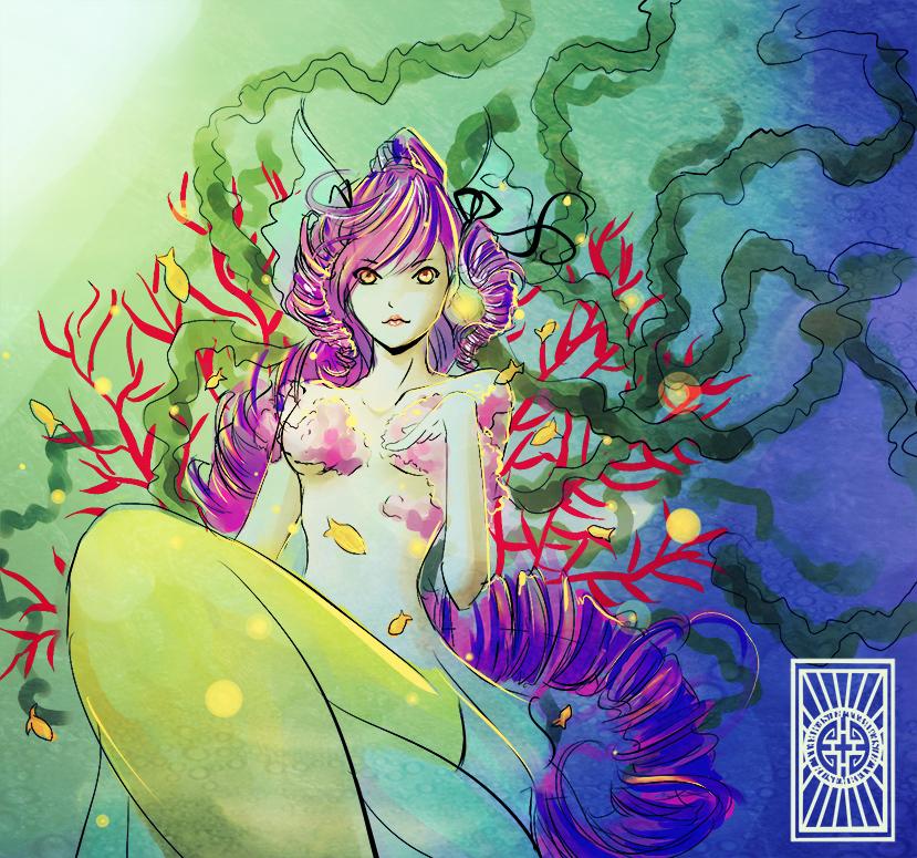 Sirena de Algas by Rusembell