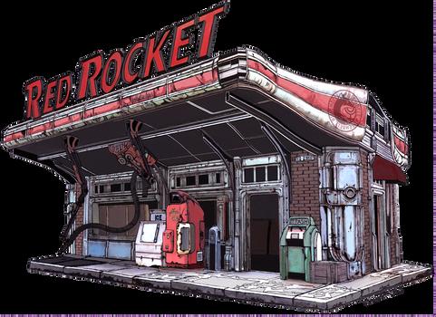 Red Rocket Color