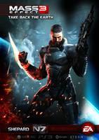 Mass Effect 3 Custom Poster! by Sinfrid