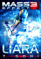. / [ Mass Effect Liara T Soni Custom Poster ] \ . by Sinfrid