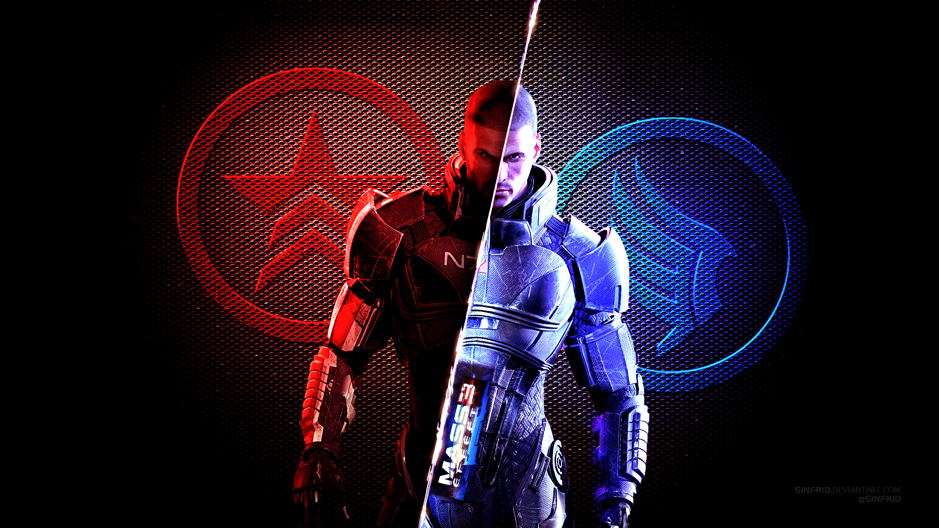 Mass Effect 3 Wallpaper 01 by Sinfrid