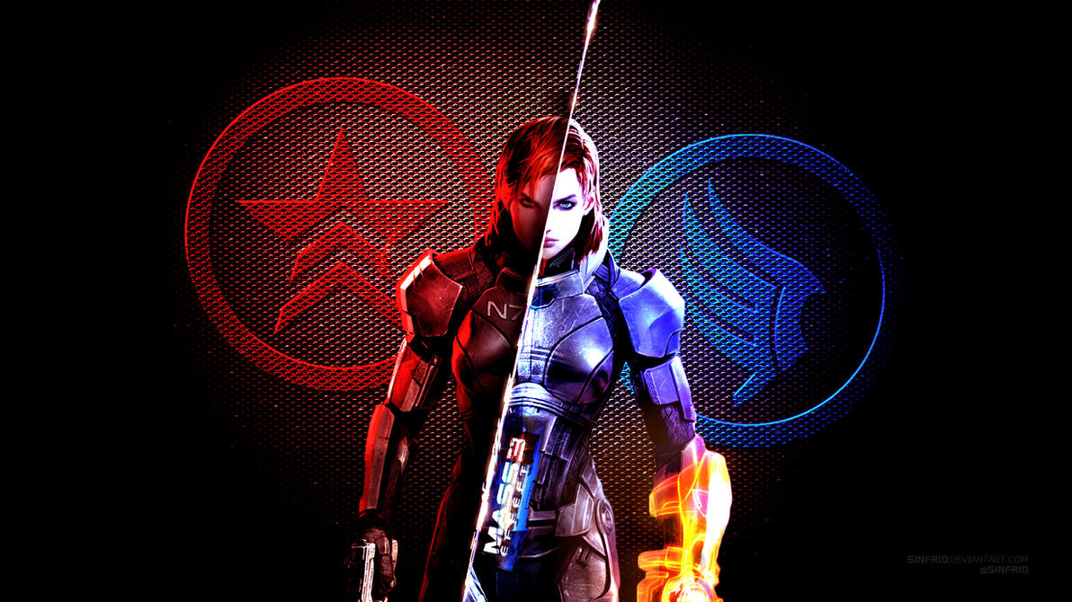 Mass Effect 3 Wallpaper 02 by Sinfrid