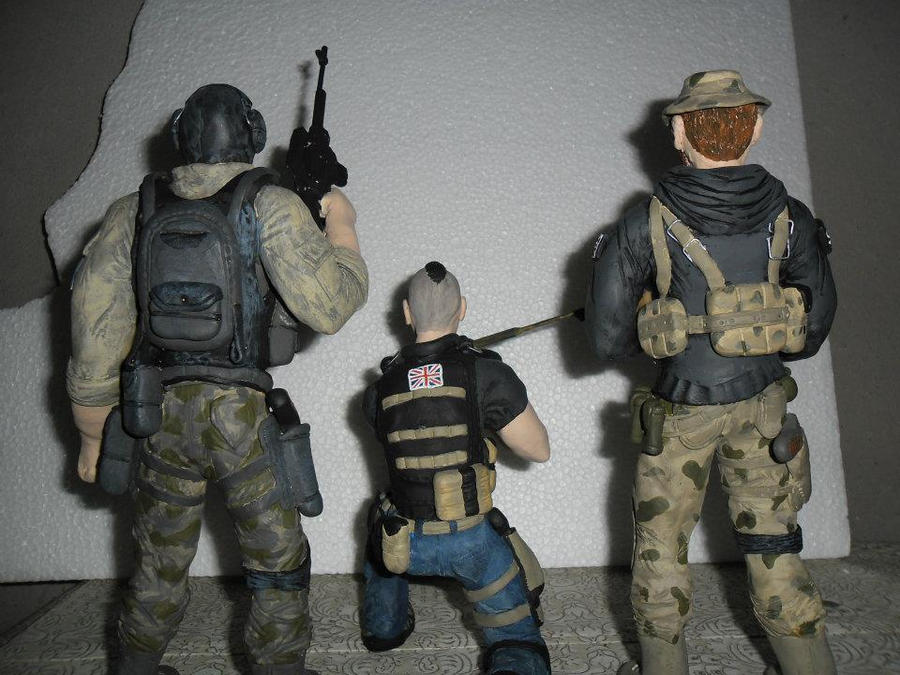Call Of Duty (Soap, Price and Ghost) by vandersonmdacruz ...