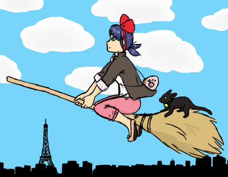Marinetts little delivery service by ColorfullKitty