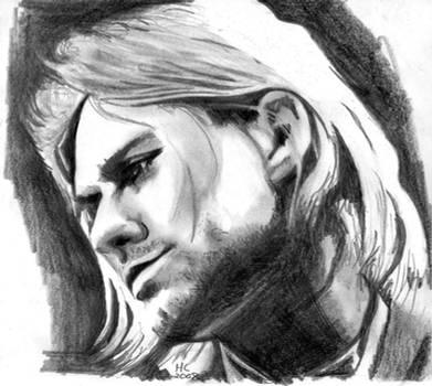 Kurt Cobain by scriptsensei