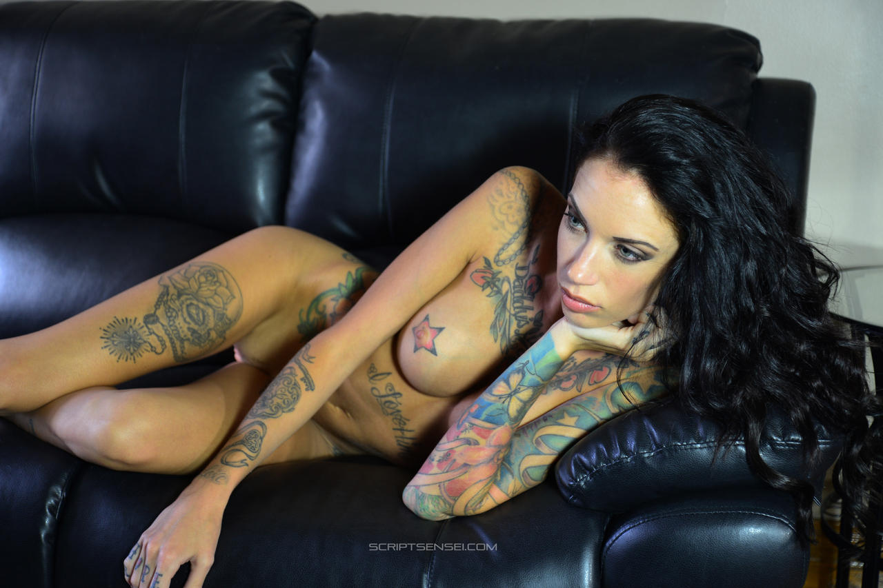 Erotic tattoo nude