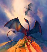 Dragons by Lu-Mor