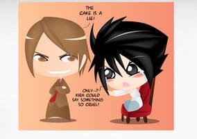 L has no cake by Hihoshi