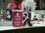 Plushy England and Keep calm and make tea.