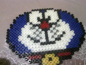 A hama beads of Doraemon by Contxu