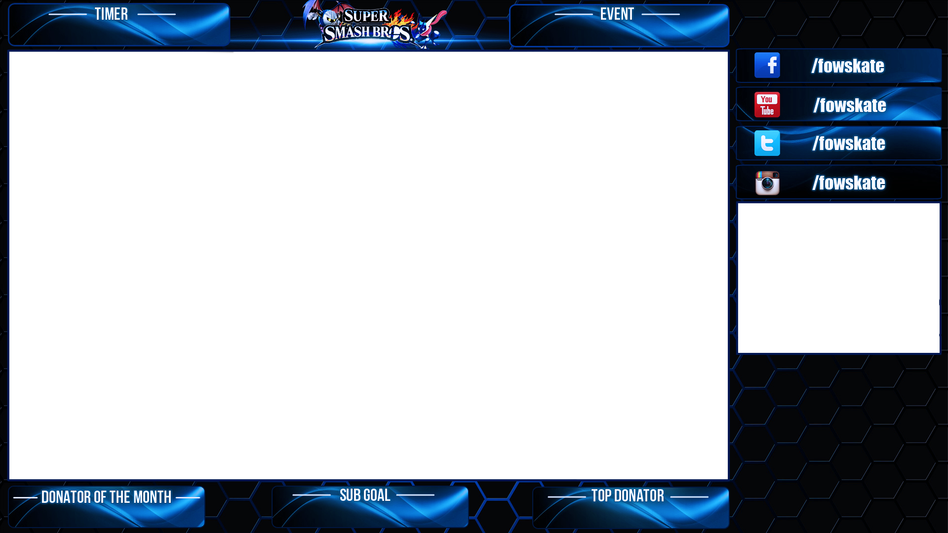 Stream Overlay Smash 4 Request By Xlustrous On Deviantart