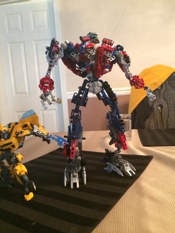 Lego Transformers Optimus Prime v1.0 by VerliTheBoss on ...