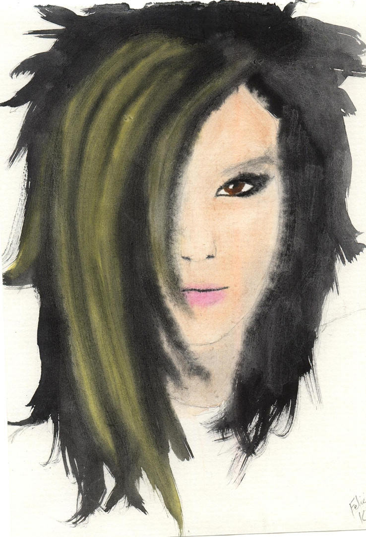Bill Kaulitz- First Attempt by Lady-Casanova