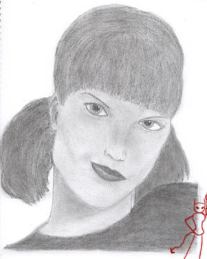 Pauley Perrette by Lady-Casanova