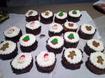 Little Boozy Christmas Cakes by imagine-anne-morgan