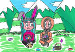 Easter Egg Hunt by imagine-anne-morgan