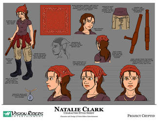 Character Style Sheet - Natalie by TheGrandHero