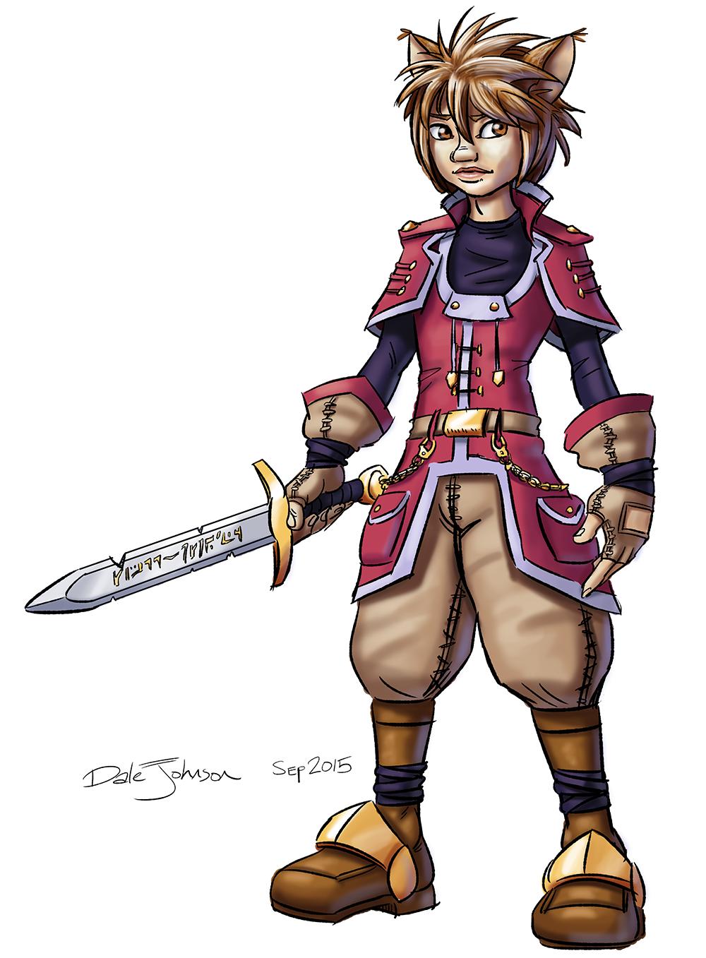 Feral Warrior by TheGrandHero